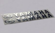 Yamaha Sticker Motorcycle Silver Decal Yzf Bike Racing Gas Tank Logo Moto Vinyl