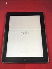 Nice Apple iPad 2 64GB WiFi Cellular Unlocked AT&T Tested Black 2nd Gen A1397