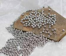 1000 Perlen silber metallic Hochzeit Wachsperlen 6mm Perle Kommunion StreuDeko