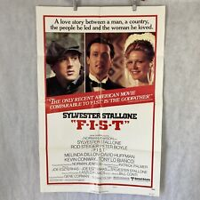 One Sheet 27x41 Movie Poster F.I.S.T. 1978 Style B Sylvester Stallone