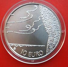 "Finnland-Finland-Suomi: 10 Euro 2009 Silber ST-BU, KM# 148, ""Pacius""  #F 1126"