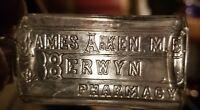 Fancy James Aiken M. D. Berwyn Pharmacy Berwyn Pennsylvania