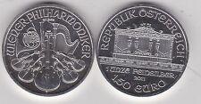 2011 AUSTRIA ARGENTO 1,50 euro/uno oncia argento strumenti in ottime condizioni