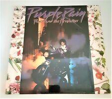 "Factory Sealed Prince ""Purple Rain""  W1-25110 LP w/poster inside, high end album"