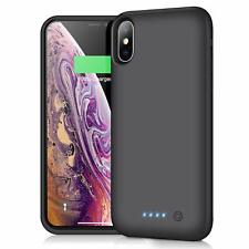 Cover + Batteria da 6500mAh per iPhone X, Power Bank Caricabatterie da 5,8''