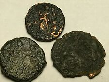 New ListingAncient Auth. 3 Roman Coins; 307 - 361 Ad; Spearing, 2 Legion & Victory Dragging