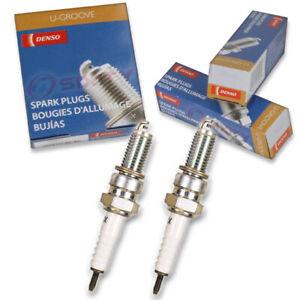 2 pc Denso Standard U-Groove Spark Plug for Triumph Bonneville 2001-2006 yt