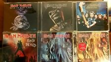 Iron Maiden 6 Singles Pack + 2 Singles as a Gift