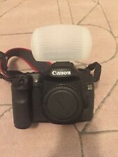 Canon 40D Body ,3 Batteries, Charger, Memory & Flash Defuser