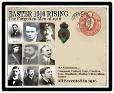 Ireland Easter 1916 Commemorative Card & Coin Other Nine Forgotten Men
