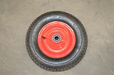 "16"" 400mm Barrow wheel 4.80 / 4.00 x 8 Metal rim 210 KG 16mm bore NEW"