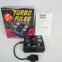 Famicom ASCII TURBO FILE 2 II Boxed AS-TF21 Family Computer JAPAN Game 1272