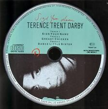 TERENCE TRENT D'ARBY Sign Your Name PICTURE DISC CD EP