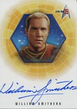 Star Trek 35th Anniversary Holofex Autograph Card A27 William Smithers