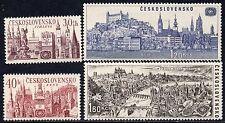 1677 - CZECHOSLOVAKIA 1967 - International Tourist Year - Towns - MNH Set