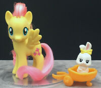 My Little Pony MLP G4 Fluttershy with White Rabbit Pet Single Wave 1 2010