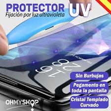 Protector Pantalla Samsung Galaxy S8-S9-S10-S10e/Plus Note 8-9 UV LED 9H
