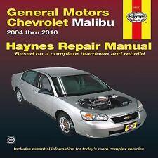 2004-2010 Haynes Chevrolet Malibu Repair Manual