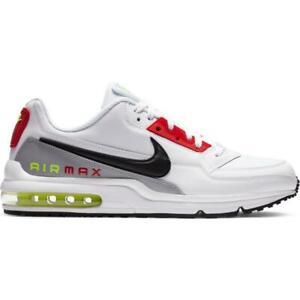 Scarpe sportive uomo Nike Air Max Ltd 3 pelle bianco nero rosso  CZ7554-100