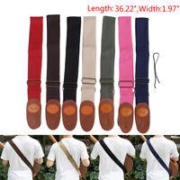 Profession Soft Guitar Strap Belt W/Shoulder Pad F/Acoustic Electric Bass Uni ga