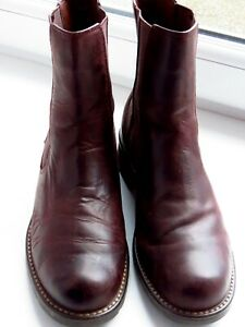 CLARKS Brown Leather Ankle Boots UK Size 6.5 BNWB