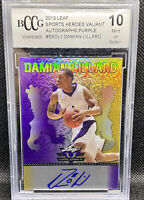 Damian Lillard 2013 Leaf Auto Graded Perfect 10 19/25 Extremely Rare 🔥📈