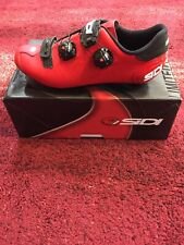 Sidi Ergo 5 Matte Red Black Size 43 US 9