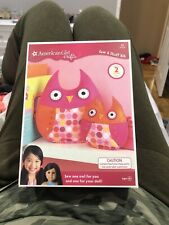 American Girl Crafts Owl Sew & Stuff Kit 50 Pieces - Makes 2! Ages 8+