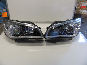 HOLDEN COMMODORE VF 2013-2018 SS SV6 HEADLIGHTS PAIR LEFT AND RIGHT NEW BLACK