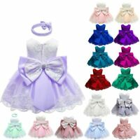 Baby Party Flower Bridesmaid Dresses Kid Formal Girl Princess Dress Tutu Wedding