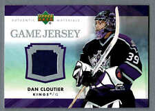 2007-08 Upper Deck Game-Used Jersey J-DC L.A.Kings' Dan Cloutier