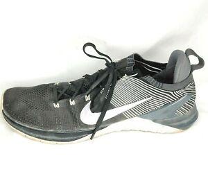 Nike Metcon DSX Flyknit 2 Mens SZ 12 Cross Training Black/Dark Grey 924423-010