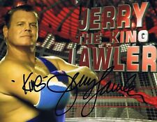 Jerry 'The King' Lawler Autographed 8x10 Photo w/Coa - Wwe