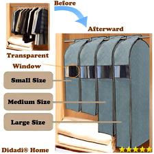Closet Hanger 12 Shoulder Cover Storage Clean Cloth Garment Hold Suit Anti Dust