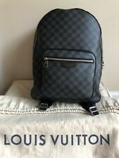 Authentic LOUIS VUITTON Josh backpack Damier Graphite Black Gray N41473 Preowned