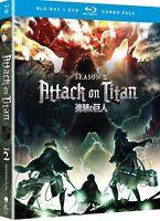 Attack on Titan Season 2 Two Blu Ray
