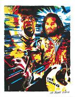 The Thing, John Carpenter, Kurt Russell, Science Fiction, 8.5x11 PRINT w/COA