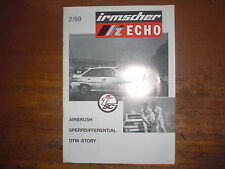 Prospetto SALES BROCHURE OPEL IRMSCHER ECHO TUNING AEROGRAFO AUTO CAR автомобиль