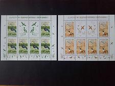 1999 - Romania - Europa '99 - (Danube Delta).,Mi.Bk.5414 - 5415 , 2 Kb, Mnh