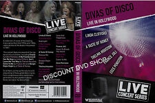 Divas of Disco. Live in Hollywood. New DVD