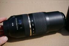 Tamron SP A005 70-300 mm F/4.0-5.6 LD AF Di VC USD Objectif Canon Fit