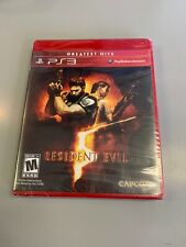 Brand New Resident Evil 5 (Sony PlayStation 3, 2009) PS3 Greatest hits