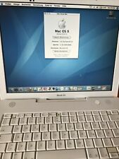 Apple iBook G4   1,42 GHz, 1,5 GB RAM Mac OS 10.4.11 WLAN Vintage Kult Rar
