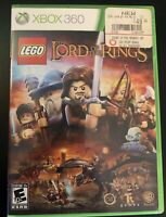 "Pre-Owned LEGO The Lord of the Rings Xbox 360 Game Complete & Tested. Rated ""E"""