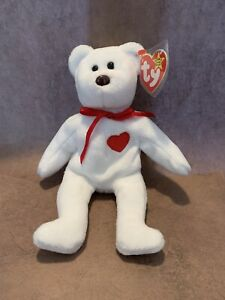 VERY RARE Ty Valentino Beanie Baby with almost every error possible!