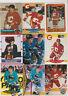 (55) card Sergei Makarov mixed lot w/ rookies, Calgary Flames HOF