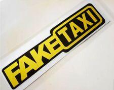 FAKE TAXI ✔ 20cm✔ Tuning Aufkleber ✔ Fun Sticker ✔ Auto Aufkleber✔Gelb...