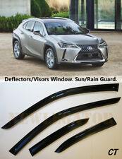 For Lexus UX 2019 Sd/Wagon Windows Visors Deflector Sun Rain Guard Vent