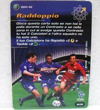 FOOTBALL CHAMPIONS Italiano 2001-02 - RADDOPPIO - carta azione 66/80 MONTELLA