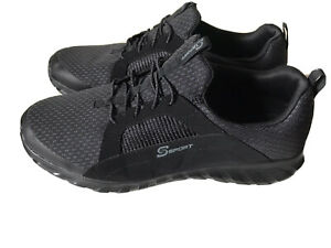 Mens 9.5 Black S Sport By Skechers  Sneakers